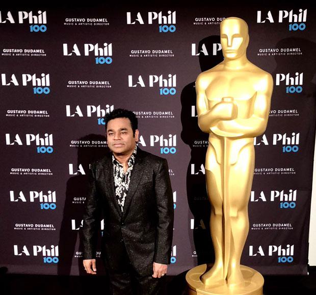 Legends AR Rahman and Hans Zimmer met at the Oscars 2018 concert