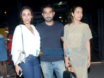 Malaika Arora and Amrita Arora snapped at Yauatcha in Bandra
