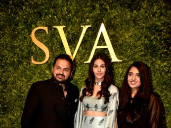 Mira Rajput and Amyra Dastur snapped at SVA store launch