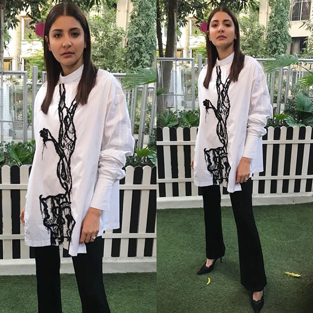 Monochrome Magic - Anushka Sharma