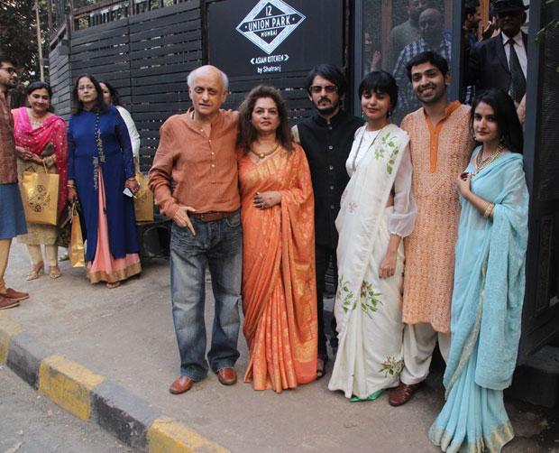 Mukesh Bhatt hosts a luncheon to celebrate daughter's engagement