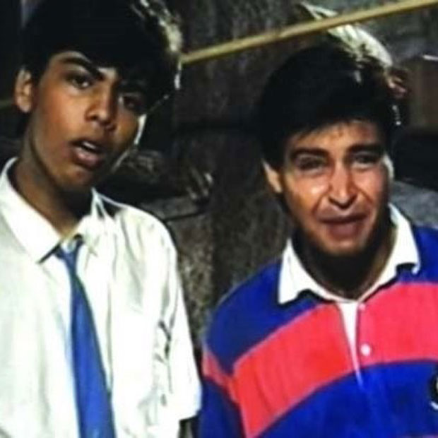 NOSTALGIA! Karan Johar shares his 30 year old TV debut and it is perfect for this flashback Friday!