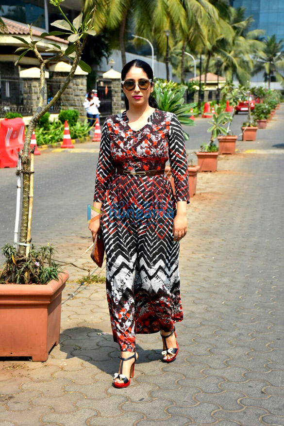 Neha Bhasin spotted in Malad