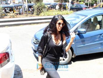 Nimrat Kaur snapped at Bastian in Bandra