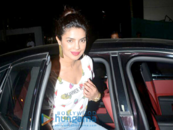 Priyanka Chopra and Arpita Khan grab dinner at BKC