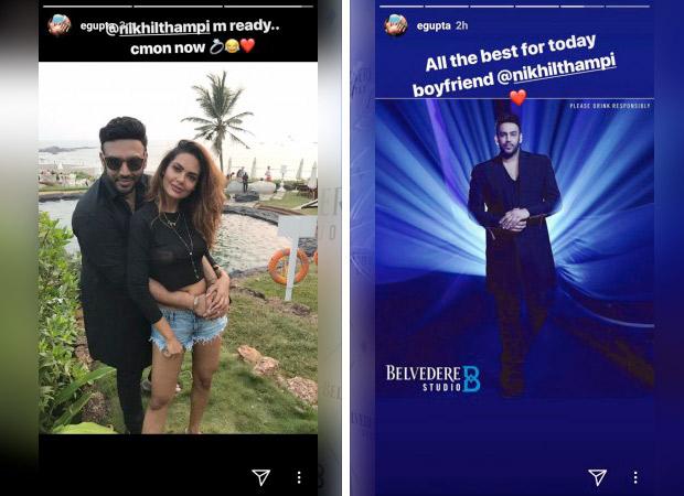 REVEALED: The reality behind Esha Gupta and Nikhil Thampi engagement picture