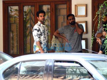 Rajkummar Rao spotted at Maddock Films office in Khar