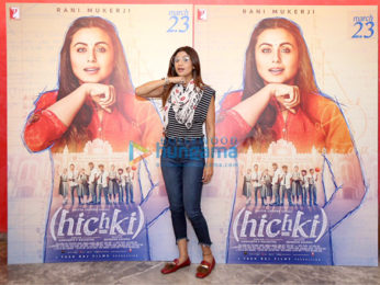 Rani Mukerji hosts a special screening of Hichki at YRF Studios