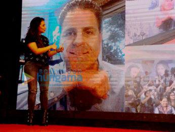 Rani Mukerji introduces Brad Cohen the real inspiration behind Hichki to the media