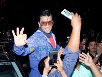 Ranveer Singh snapped outside Otters Club