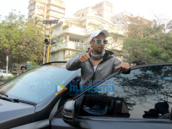 Ranveer Singh spotted at Otters Club