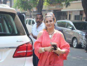 Raveena Tandon snapped in Mumbai