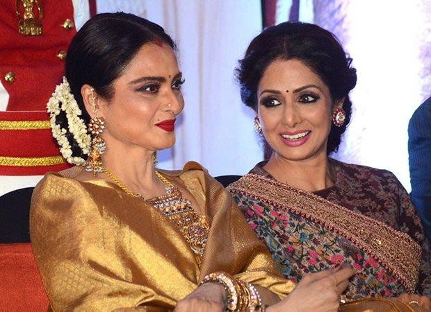 Rekha's deep connection with Sridevi