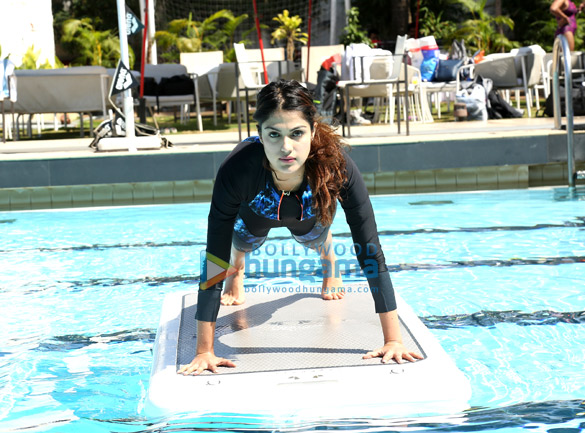 Rhea Chakraborty & Tanishaa Mukerji grace the Speedo Aquaphysical event