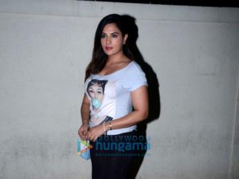 Richa Chadda snapped at PVR Juhu