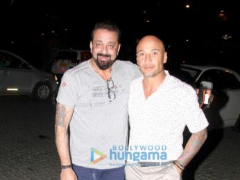 Sanjay Dutt snapped at BKC
