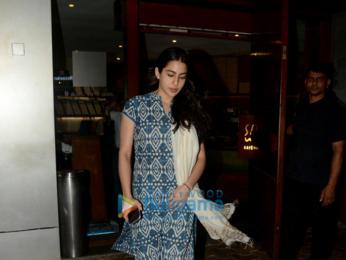 Sara Ali Khan snapped at Salt Water Cafe Bandra