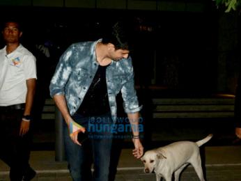 Sidharth Malhotra snapped at Hemant Oberoi, BKC