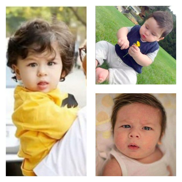 Taimur Ali Khan's TRANSFORMATION from a cherubic infant to a charming lady killer (see pics)
