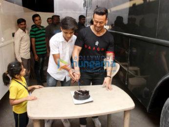 Tiger Shroff, Disha Patani promote their film 'Baaghi 2'