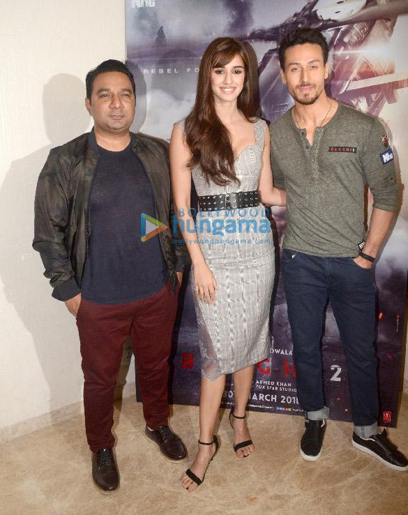 Tiger Shroff and Disha Patani promote Baaghi 2 in Mumbai