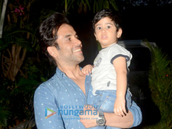 Tusshar Kapoor, Laksshya and Taimur Ali Khan snapped at Pali Hill in Bandra