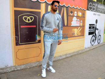 Upen Patel spotted at a cafe in Bandra