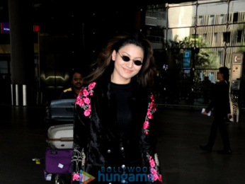 Urvashi Rautela snapped at the airport