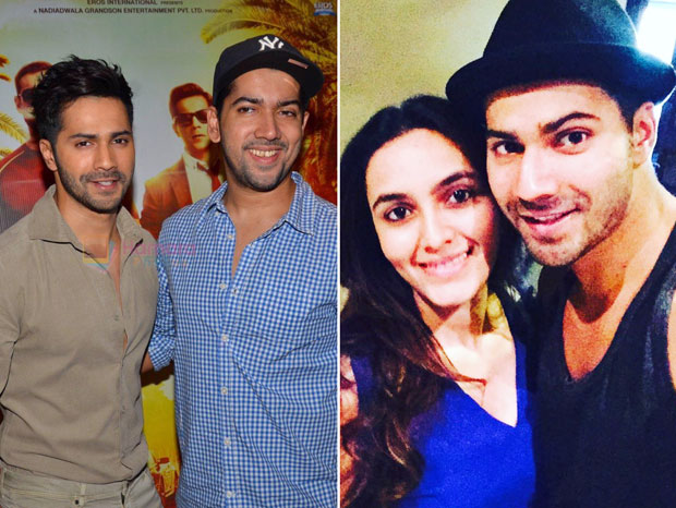 Varun Dhawan to become uncle soon; Rohit Dhawan and wife Jaanvi Desai expecting their first child