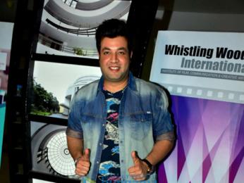 Varun Sharma snapped at Whistling Woods International