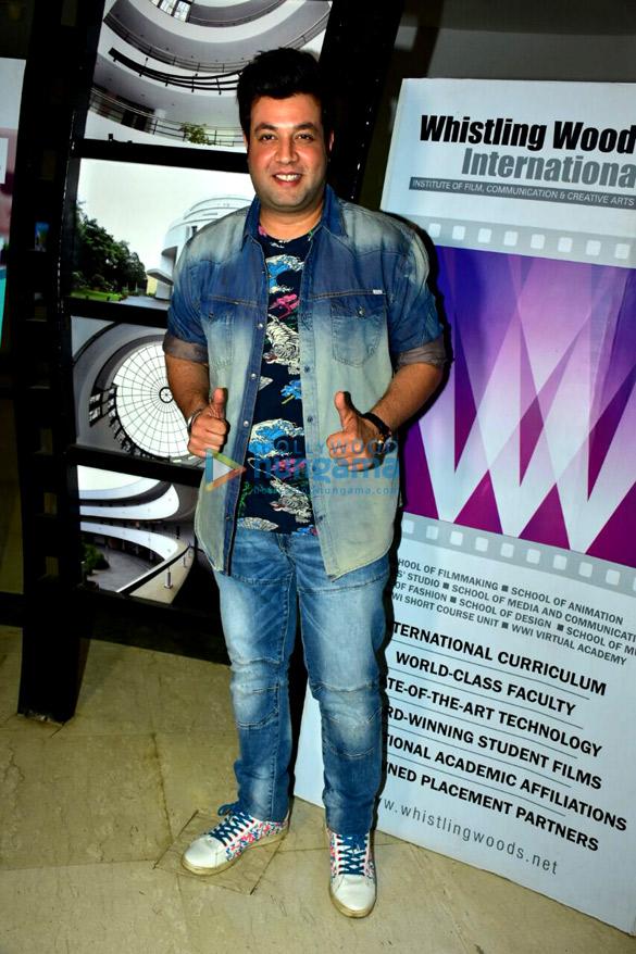Varun Sharma Snapped At Whistling Woods International Varun Sharma Images Bollywood Hungama