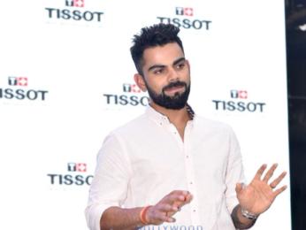 Virat Kohli snapped at Tissot watch launch