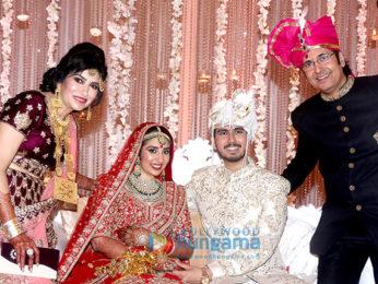 Wedding reception of Mahendra Kapoor's grand son Siddhant Kapoor