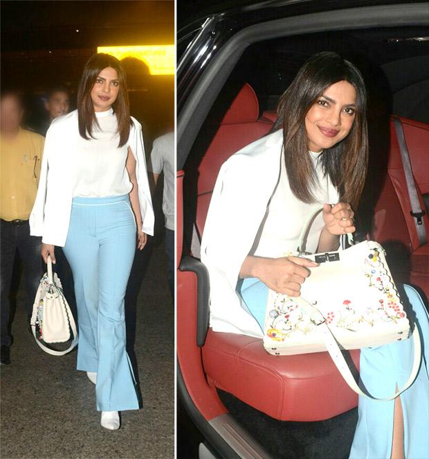 Weekly Best Dressed: Priyanka Chopra in monochrome separates