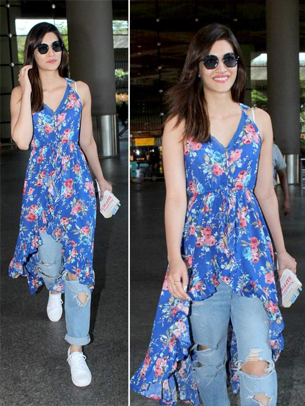 Weekly Celeb Airport Style: Kriti Sanon