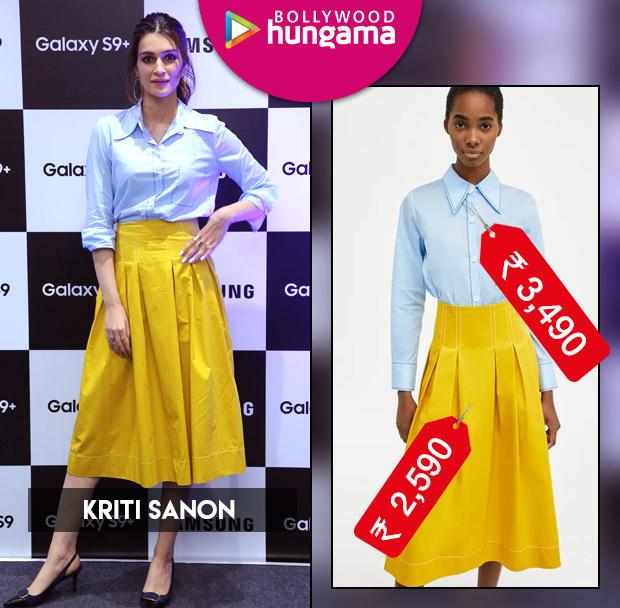 Weekly Celeb Splurges: Kriti Sanon