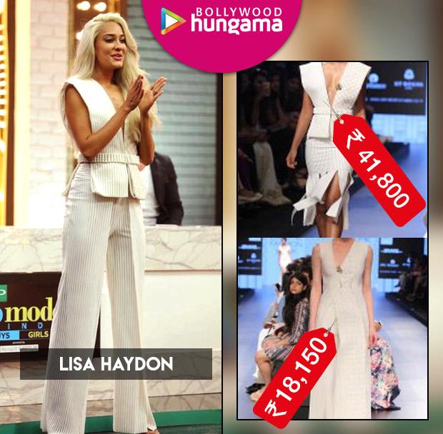 Weekly Celeb Splurges: Lisa Haydon