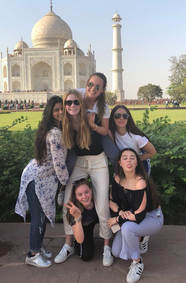 Who's prettier? Suhana Khan or the Taj Mahal? See pictures and let us know!