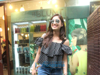 Yami Gautam spotted at BBlunt in Bandra