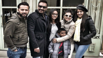 Ajay Devgn rings in his 49th birthday with Kajol, Nysa, Yug, Vatsal Sheth and Ishita Dutt in Paris