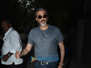 Anil Kapoor and others attend the special screening of Blackmail at Sunny Super Sound