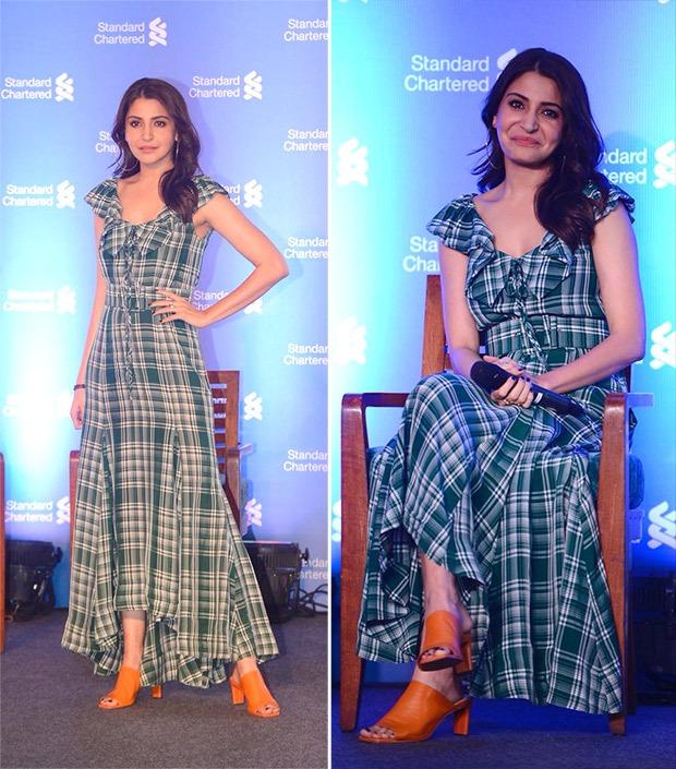 Anushka Sharma breezes through the summer in a plaid dress that's already on our lust list!