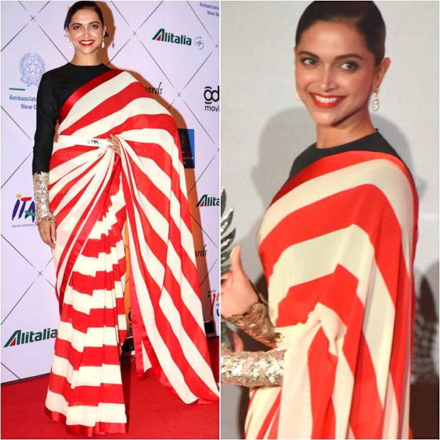 Belted Sari Muse - Deepika Padukone
