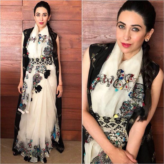 Belted Sari Muse - Karisma Kapoor