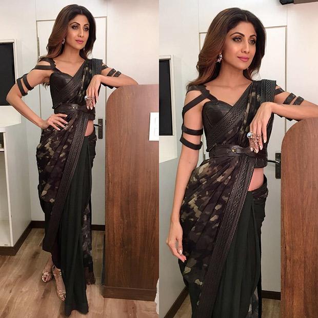 Belted Sari Muse - Shilpa Shetty