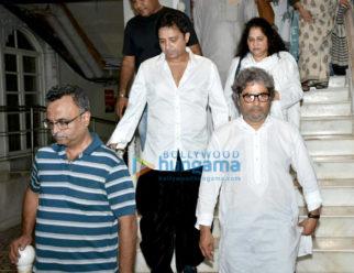 Celebs attend Vishal Bhardwaj's late mother's prayer meeting