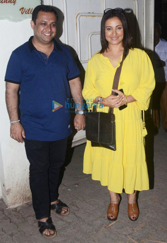 Celebs grace the screening of the film Blackmail at Sunny Super Sound