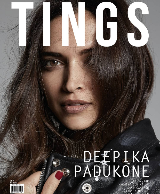 Hot Damn! Dressed to kill with nude lips and brown eyes, Deepika Padukone is the newest face on this international magazine