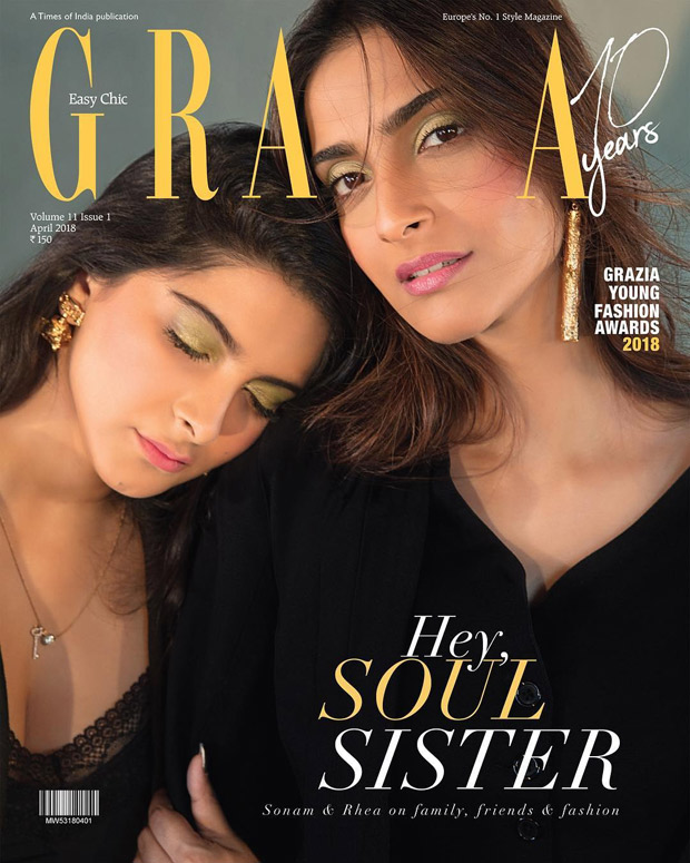 Sonam Kapoor and Rhea Kapoor turn cover girls for Grazia