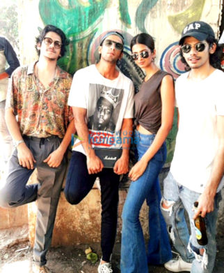 On The Sets Of The Movie Gully Boy